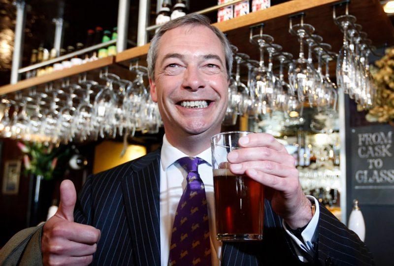 Leader Ukip Farage