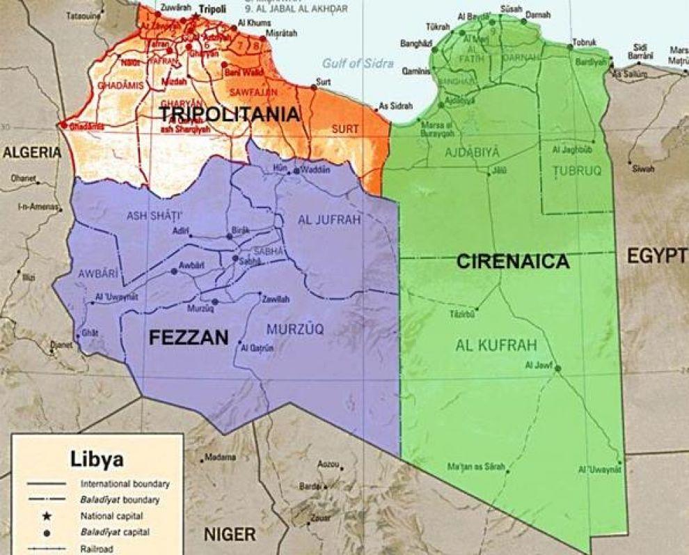 Libia Italia Cartina.Glossario Essenziale Sulla Libia Gli Stati Generali