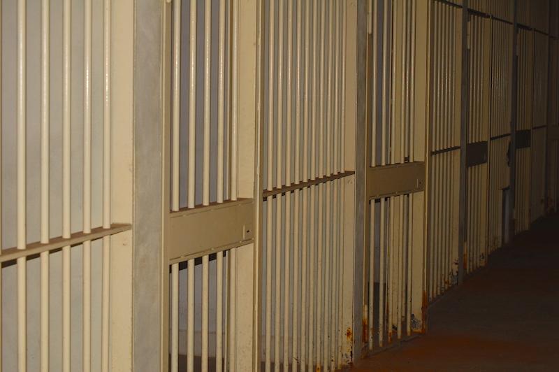 Gabbie detenuti - Aula Bunker di Opera