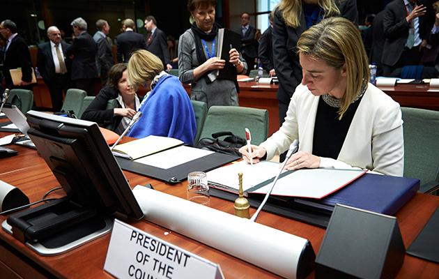 Federica Mogherini, Alta Rappresentante dell'Unione Europea