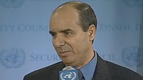 Ibrahim Dabbashi, rappresentante libico alle Nazioni Unite