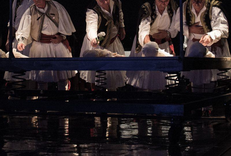 Il coro polifonico Violinat e Lampardase, foto di Tea Primiterra