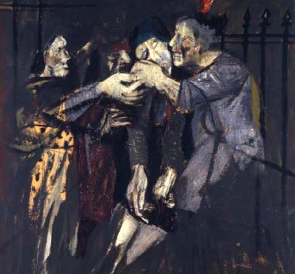 Gianfranco Ferroni, Le donne di Marcinelle 1956-1957