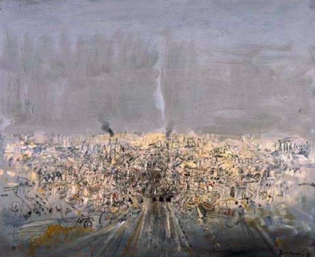 Gianfranco Ferroni, Città 1961