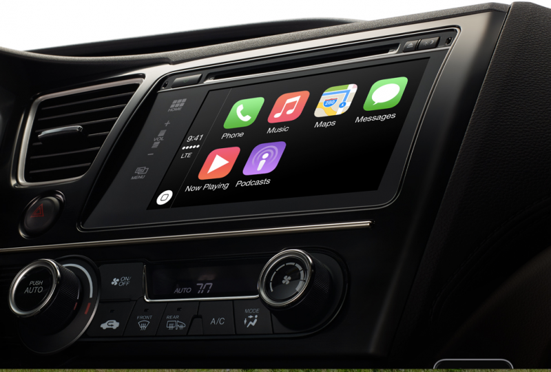 Cruscotto Carplay