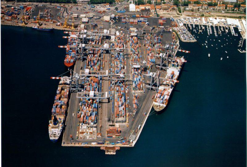 LSCT La Spezia Container Terminal air view