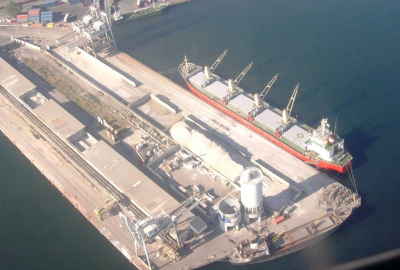 TRG Terminal Rinfuse Genoa air view 10087