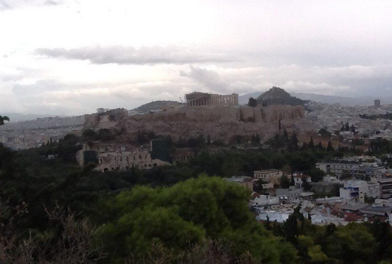 L'Acropoli vista dal colle Filo pappo