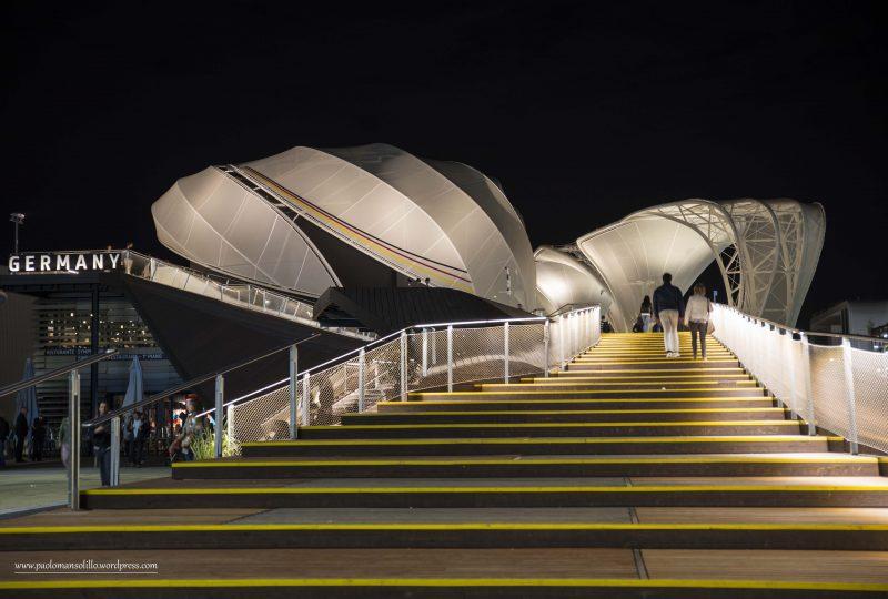 Esterno del Padiglione tedesco ad Expo 2015