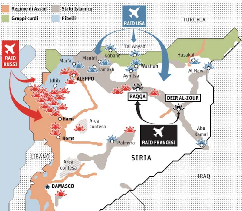 Così i grandi combattono l'Isis © Il Sole 24 Ore