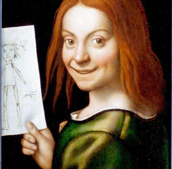 Giovan Francesco Caroto, Ritratto di Basmbino