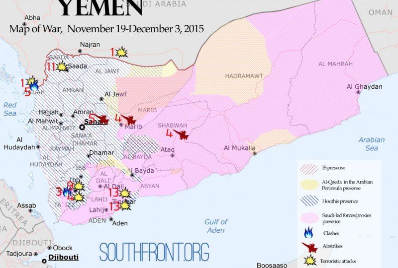 La mappa di Suothfront.org
