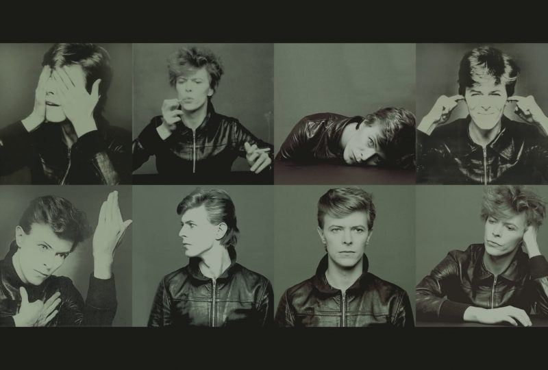 david bowie orizzontal fotine