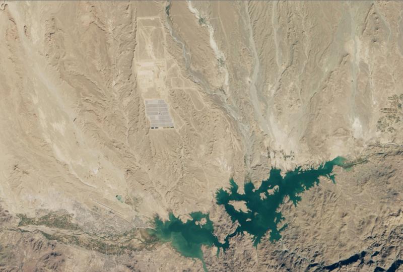 impianto solare ourzazate satellite