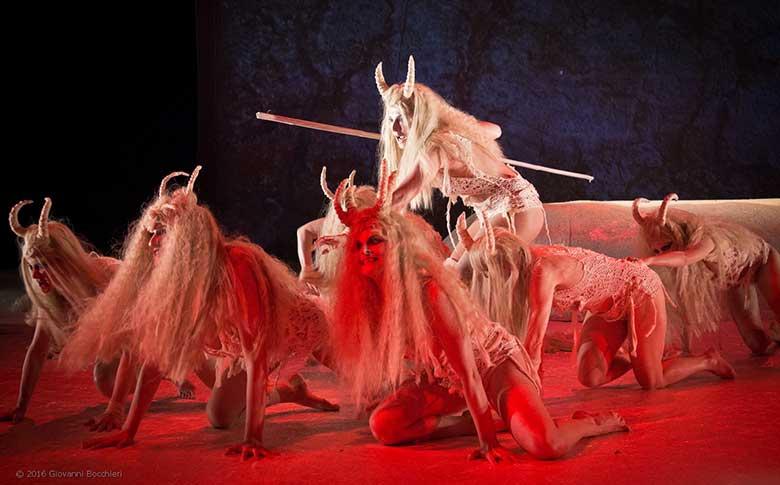 Dionysus, regia Daniele Salvo