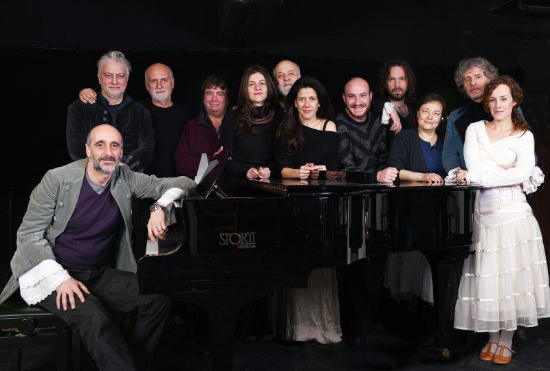 Il cast di Intrigo e Amore, foto di Giulia Rosatelli