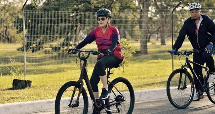 Dilma bicicleta