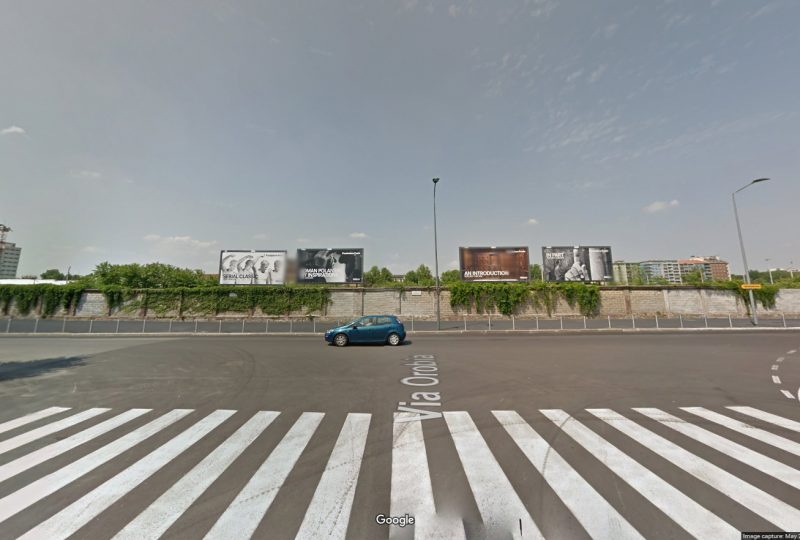 Scalo di Porta Romana (da Google Street View)