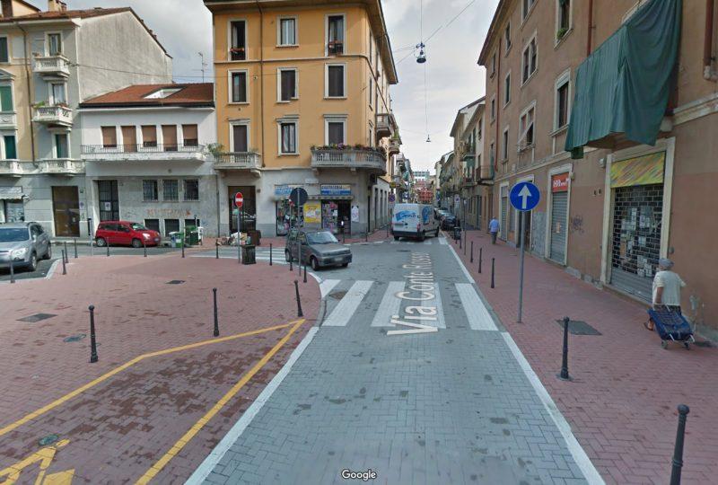 Via Conte Rosso, Marzo 2015 (da Google Street View)