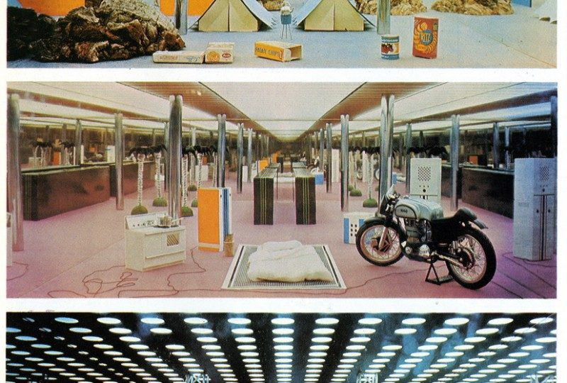 Archizoom, No Stop City, 1970