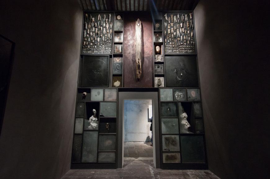 Nicola Samorì, archivio della memoria, 2015, foto © Inexhibit, 2015