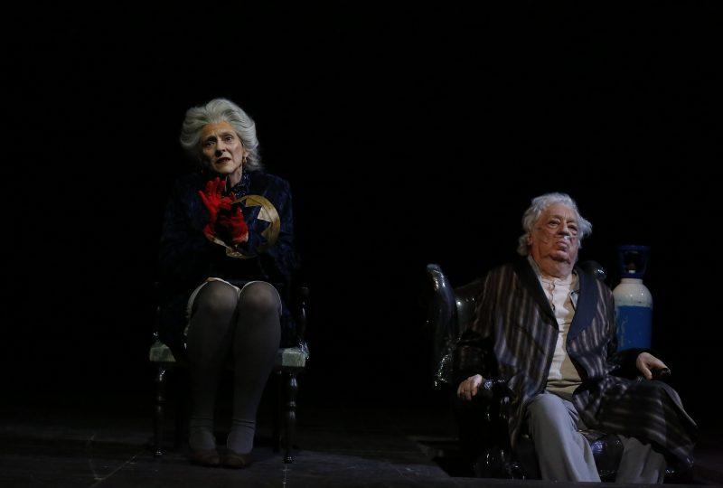 Elisabetta Pozzi e Paolo Bonacelli