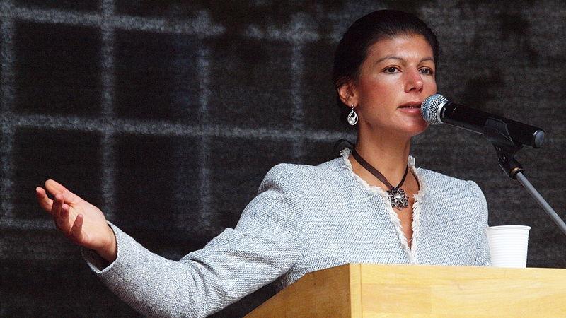 Sahra Wagenknecht (fonte http://bit.ly/1Z7eevY)