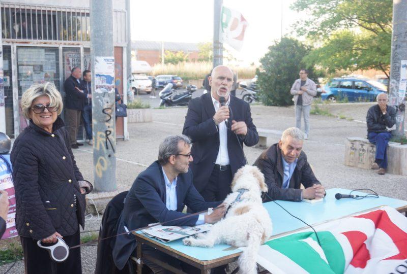 giachetti con Sabella e cane