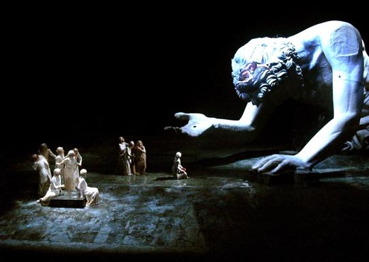 Prometeo Incatenato, regia Luca Ronconi