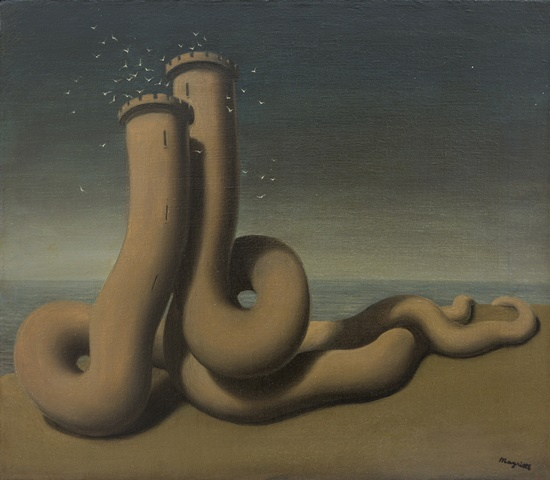 37. Magritte, L'Amour ridimensionata
