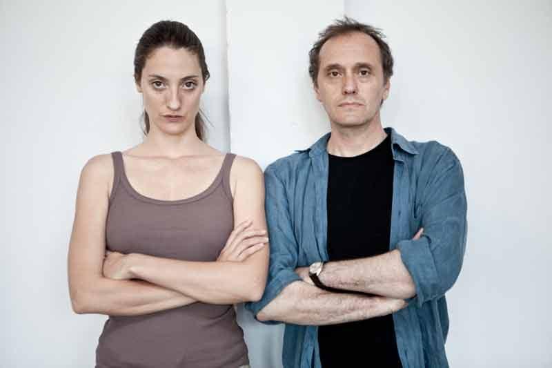 Anna Della Rosa e Luca Lazzareschi