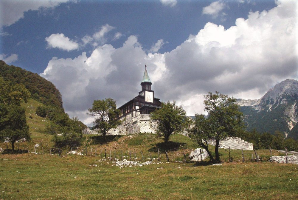 Memoriale di Javorca sopra Tolmin (foto: Bobo; fonte: www.slovenia.info)