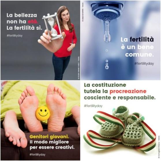I disastrosi prodotti di comunicazione per il Fertility Day