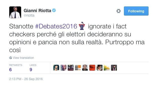 Gianni Riotta e le presidenziali americane
