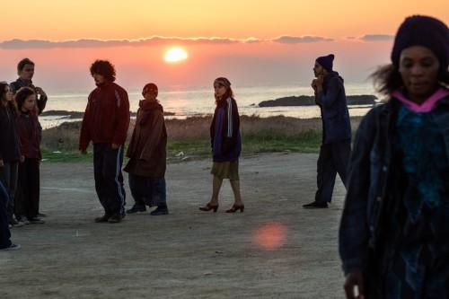 L'alba, foto di Luigi Burroni