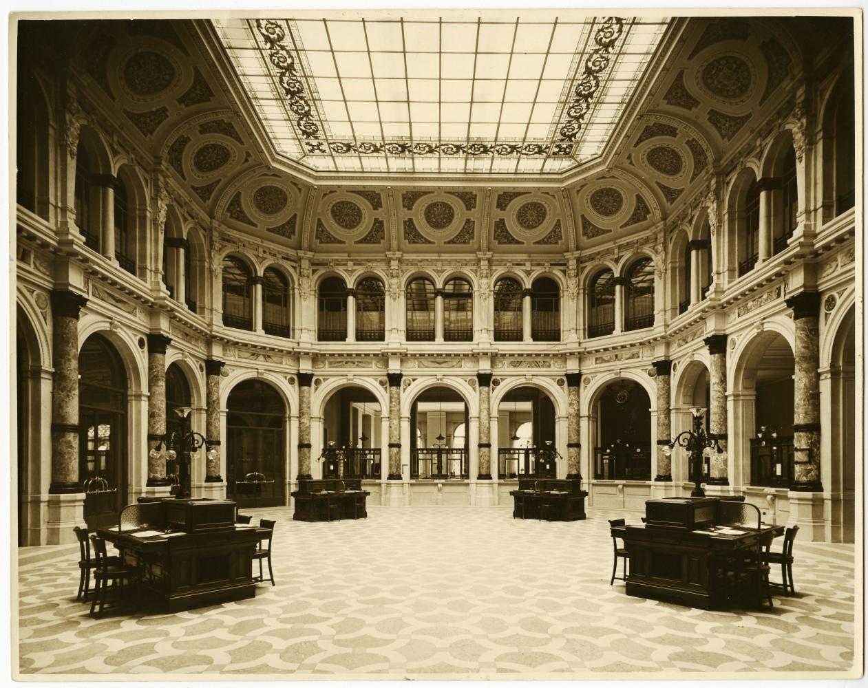 Salone principale, Palazzo Comit,  Archivio storico del Gruppo Intesa Sanpaolo