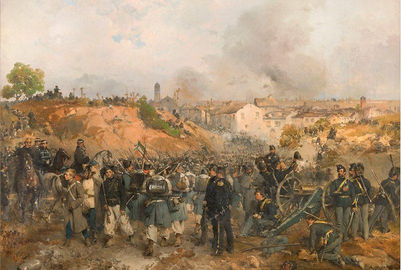 La presa di Palestro del 30_Maggio_1859