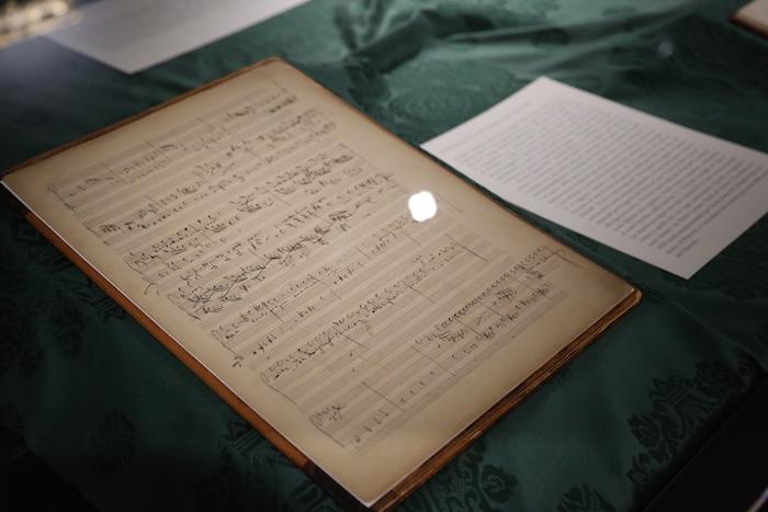 Giuseppe Verdi, spartito Falstaff, Gallerie d'Italia, Milano