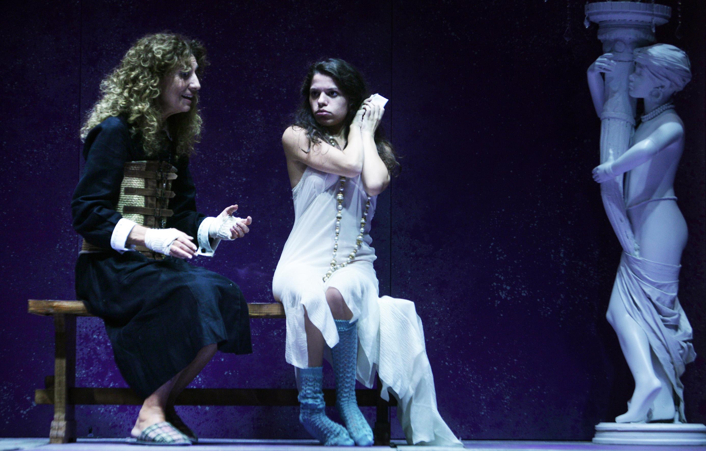 Fulvia Carotenuto e Sefora Russo, foto di Andrea Falasconi