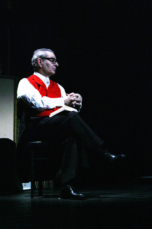Enzo Moscato, foto di Andrea Falasconi