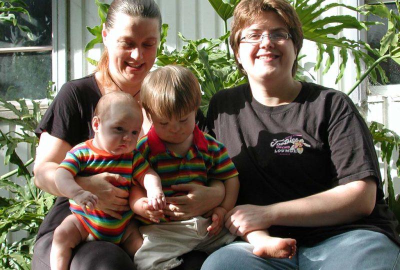 Una famiglia arcobaleno
