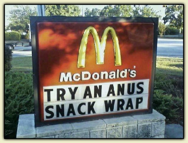McDonald's Anus angus