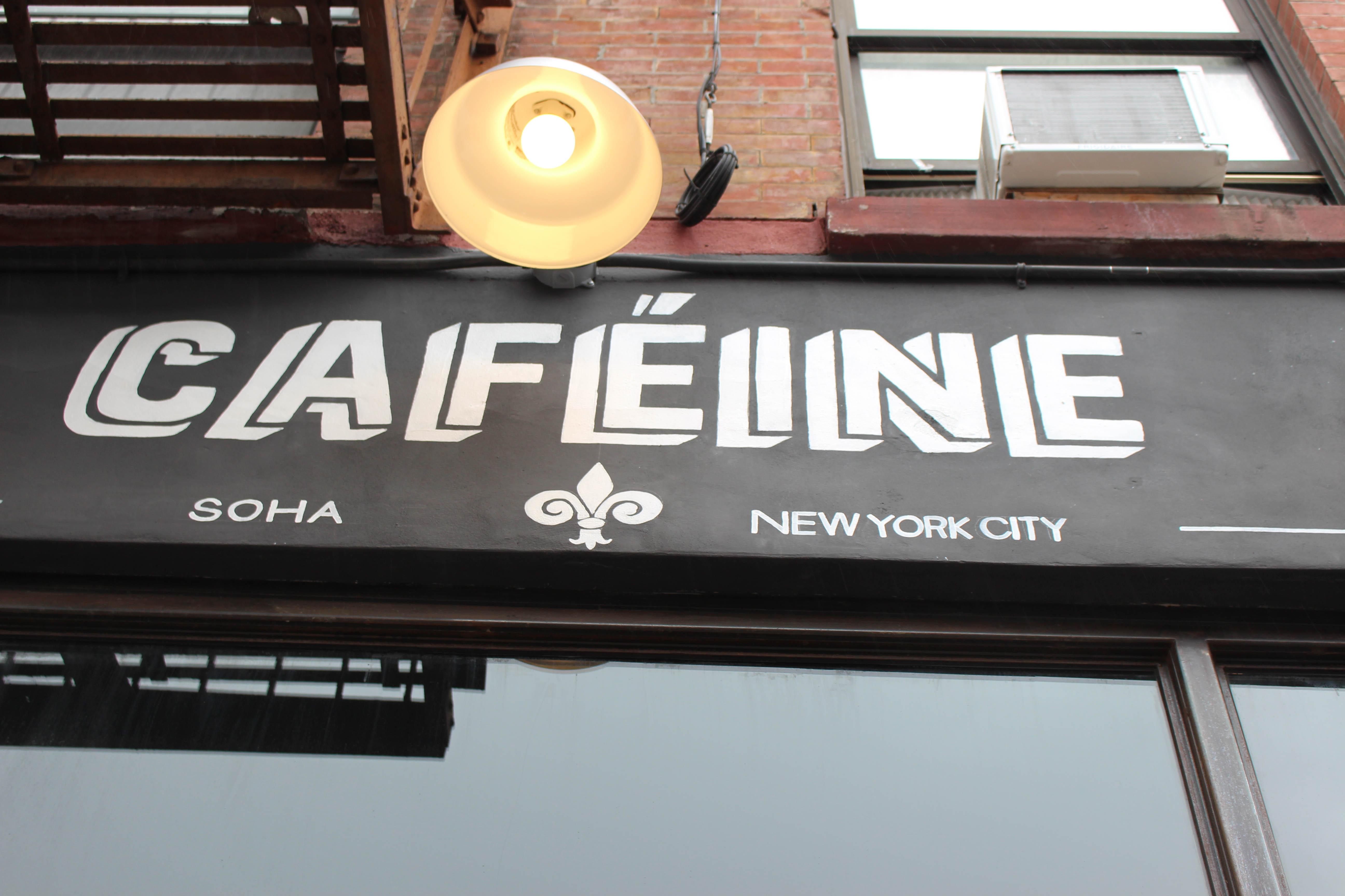 Caféine, uno dei caffè che hanno adottato il nome di SoHa. Foto di Ignacio Rullansky (2017).