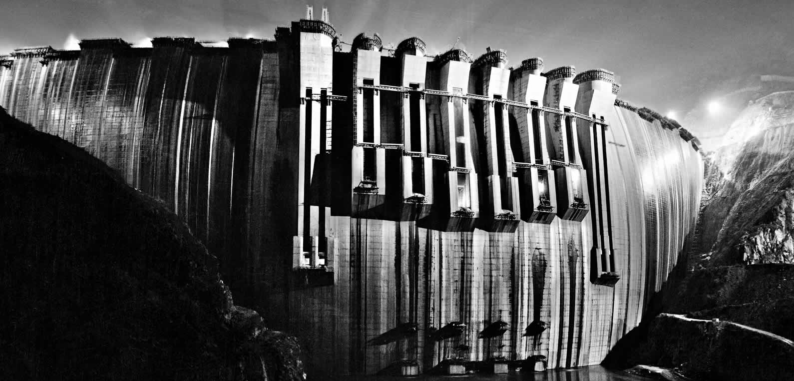 Cyclopica - Centrale idroelettrica, Cina - 1988