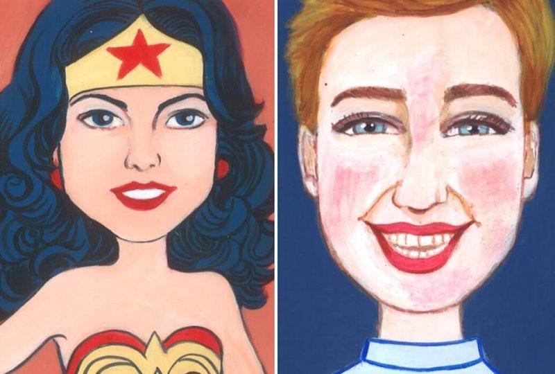 Da Wonder Woman A Bebe Vio Il Coraggio Delle Donne In Mostra Al Pan