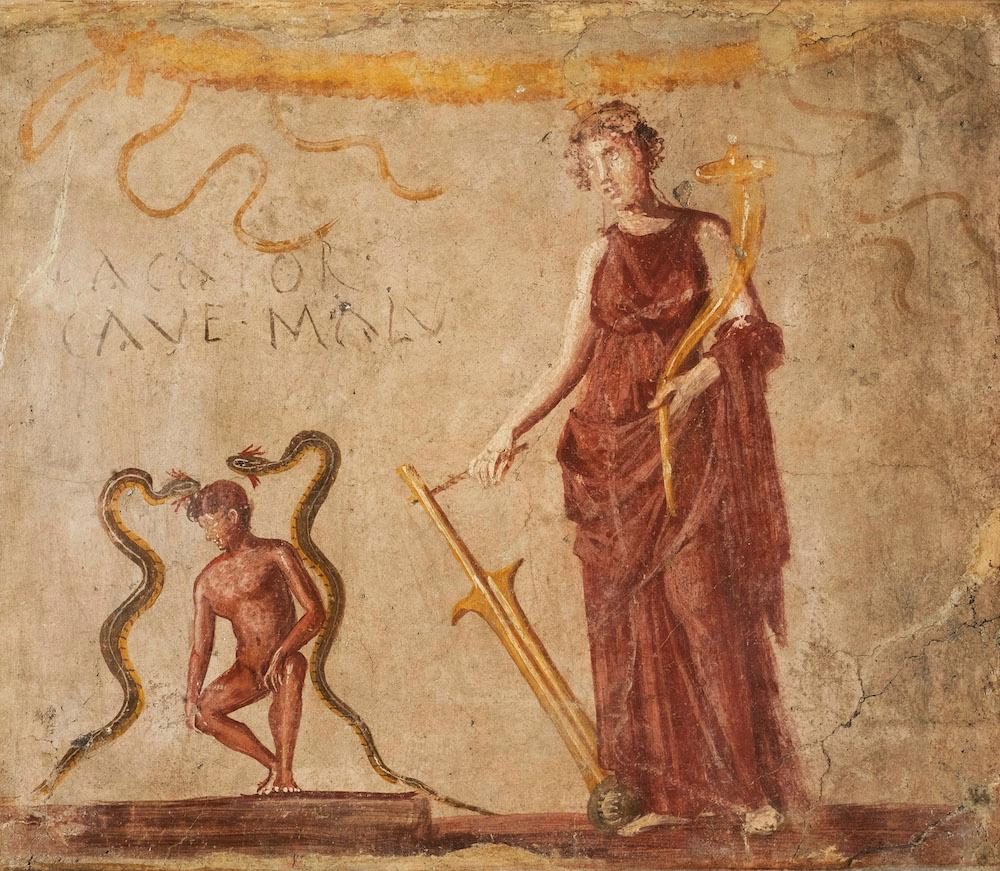 Fortuna (c) Museo Archeologico Nazionale di Napoli