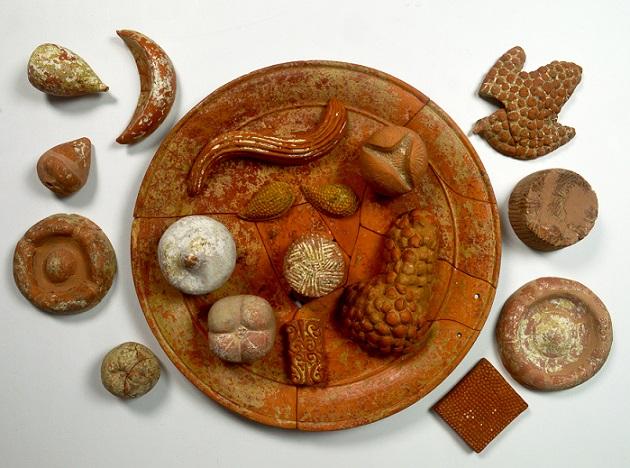 Terracotta food, Parco Archeologico di Paestum