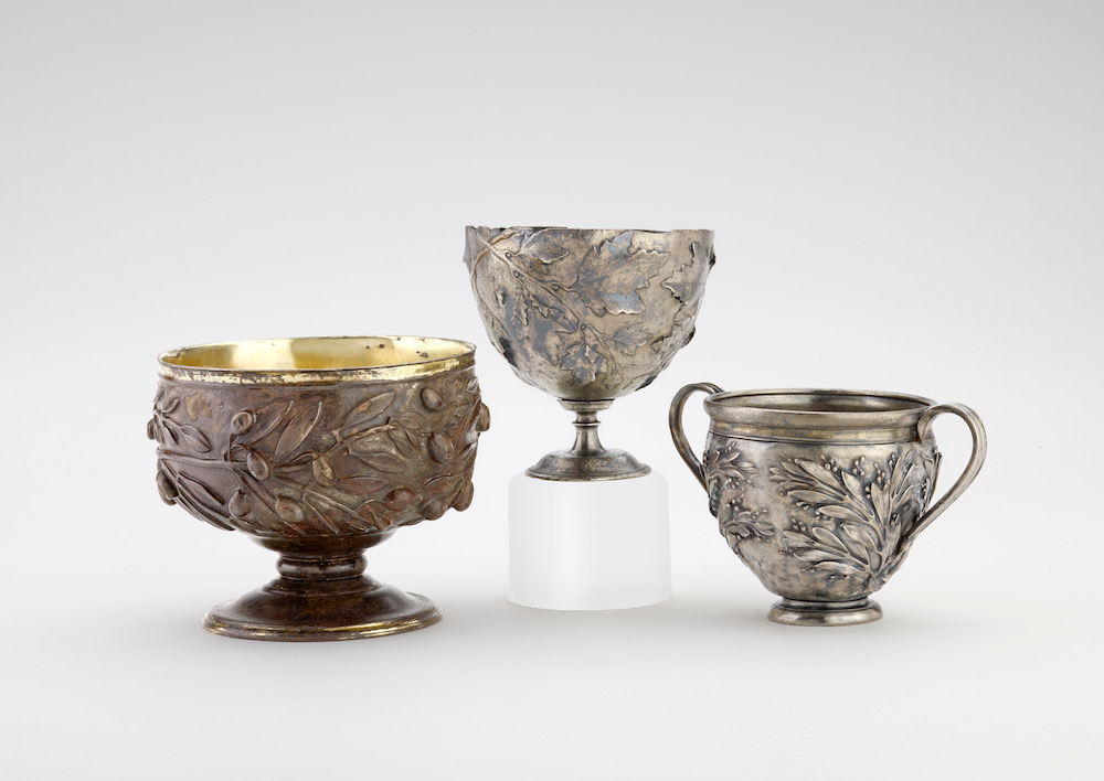 Silver cups (c) Ashmolean Museum, University of Oxford