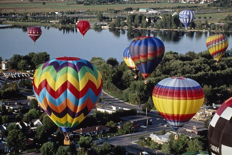 Festival del Volo -Mongolfiere in volo