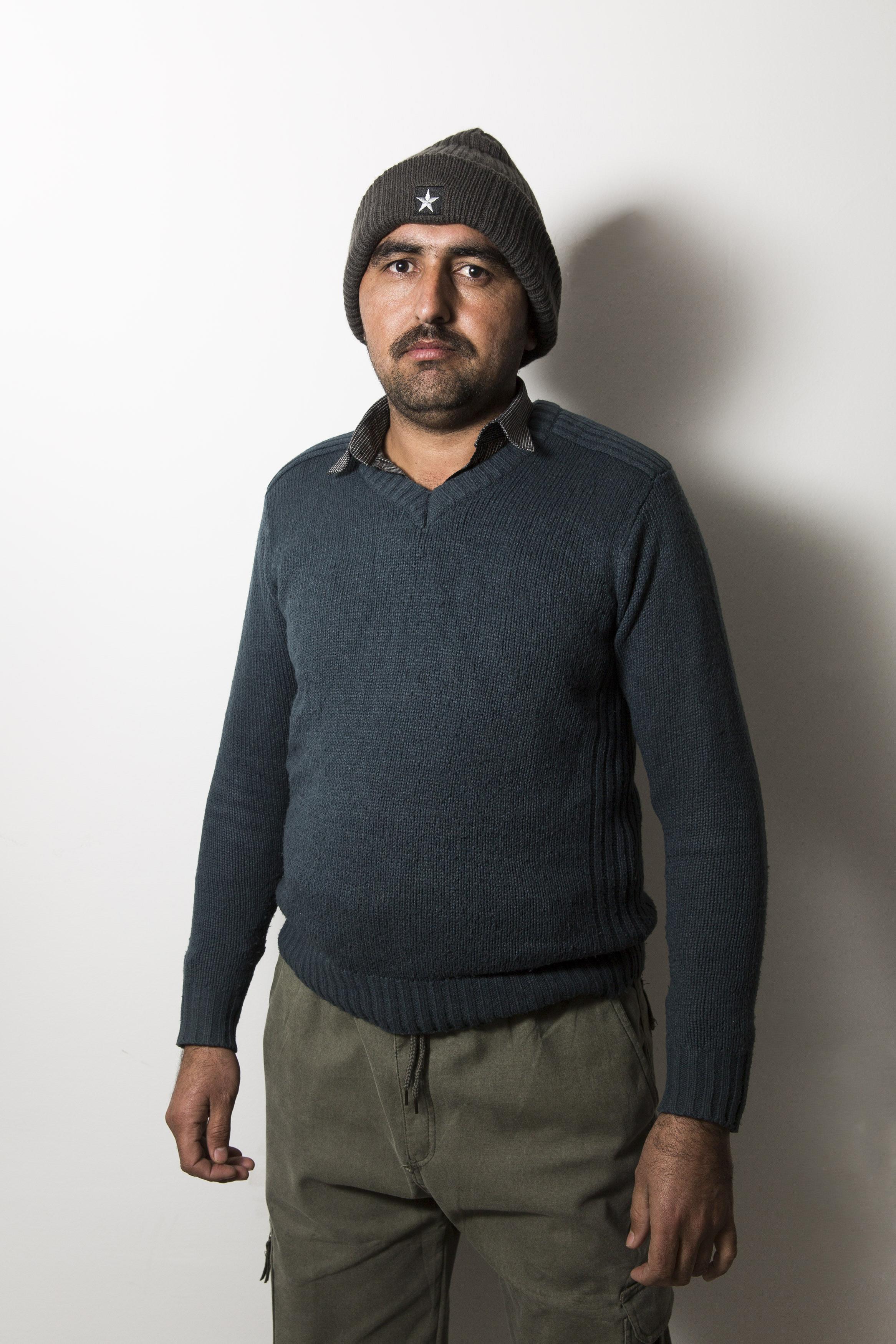 Faisal Shahzad, 30 anni, operaio stagionale Fada (foto Carlo Ramerino)